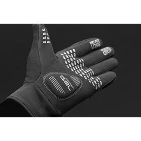GripGrab Hurricane Winddichte Winterhandschoenen Dames, zwart/grijs